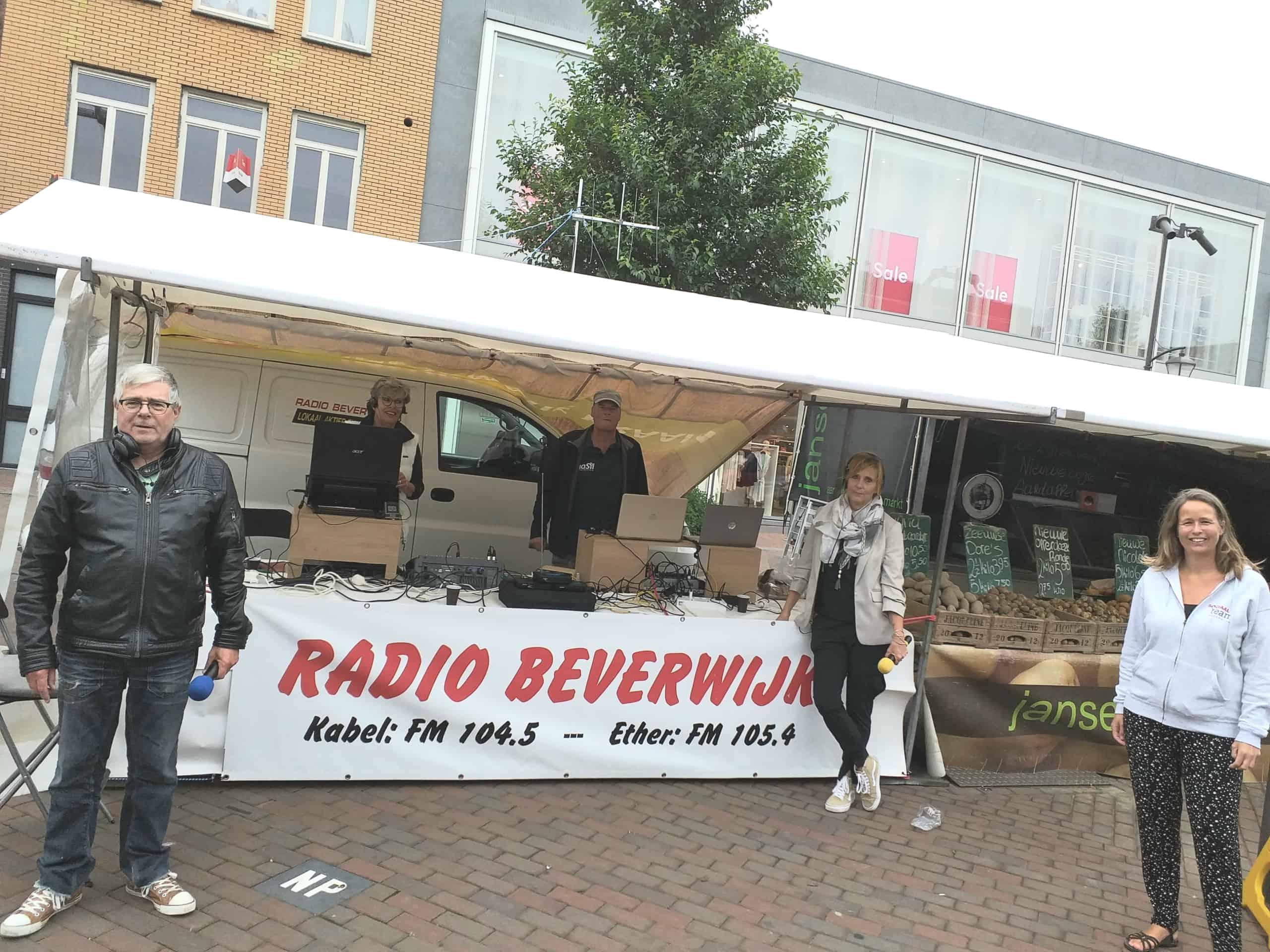 Sociaal team te gast bij Radio Beverwijk